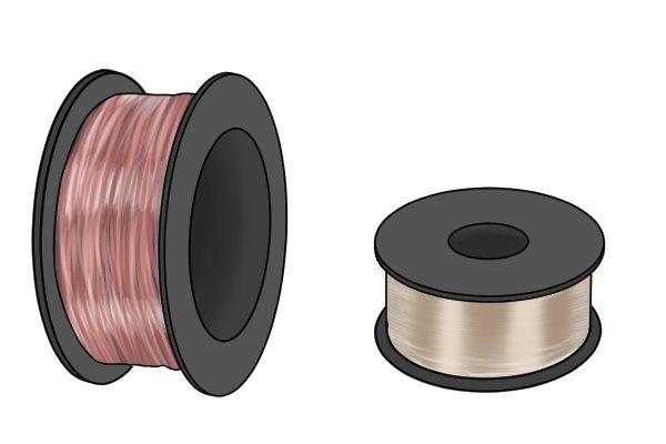copper and aluminium wire