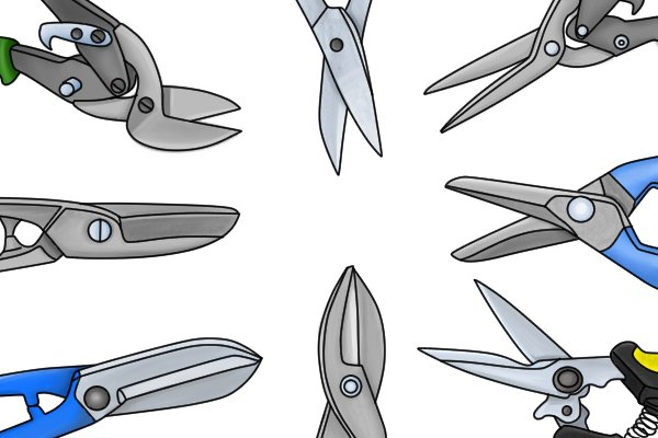 different types of tinsnip blades