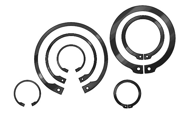 Circlips come in different sizes, individual circlip pliers are for use with caertain sizes of retaining ring, they are not a tool where one size fits all