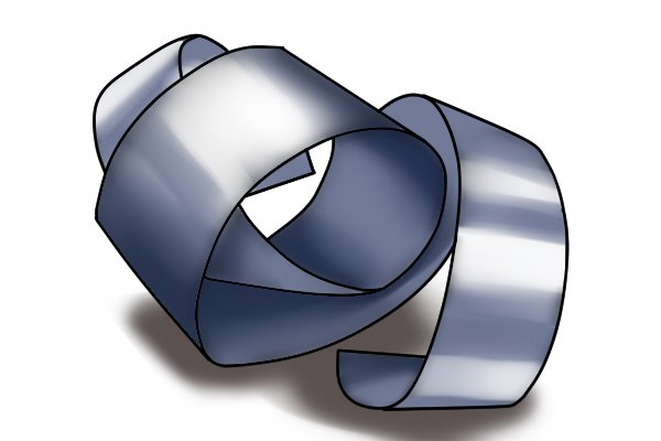 Spring steel is able to bend and twist without breaking or deforming