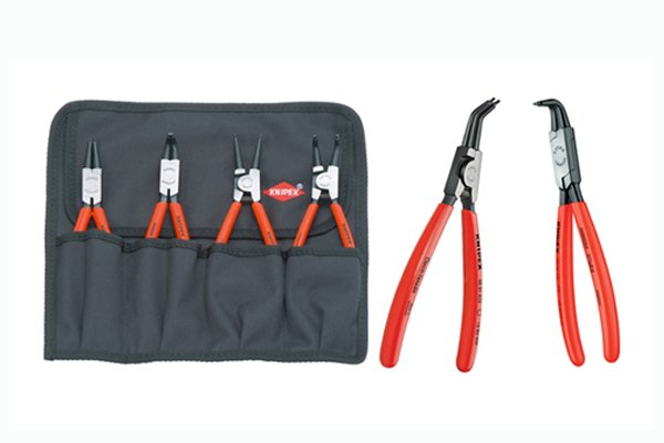 Circlip pliers can be purchased individually or in sets