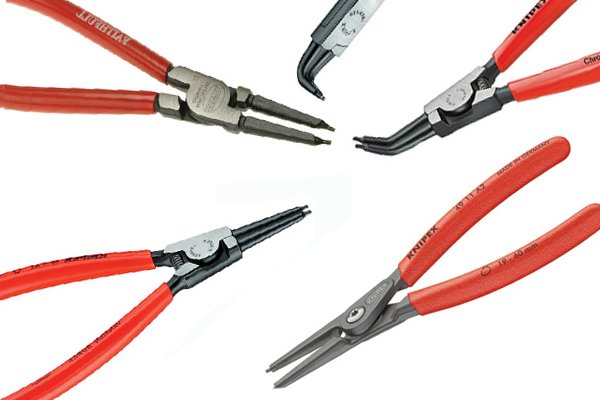 Circlip pliers have many types and sizes