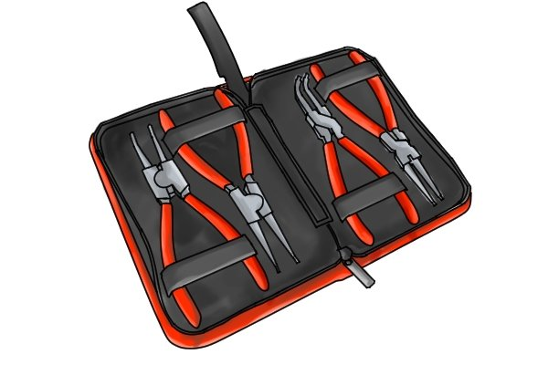 If you need to use lots of different circlip pliers you may need to buy a set