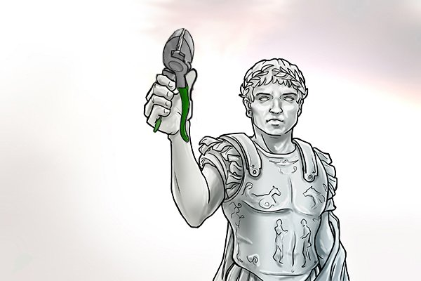 Ancient Romans invented the design seen in pliers and scissor, where two levers are joined