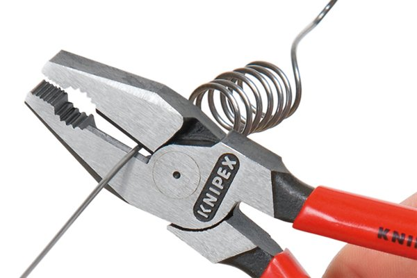 Combination pliers are used to grip and hold things and cut