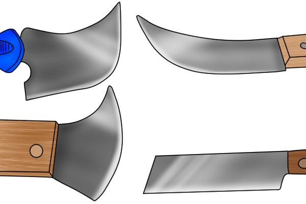 There are several different styles of blades for lead knives