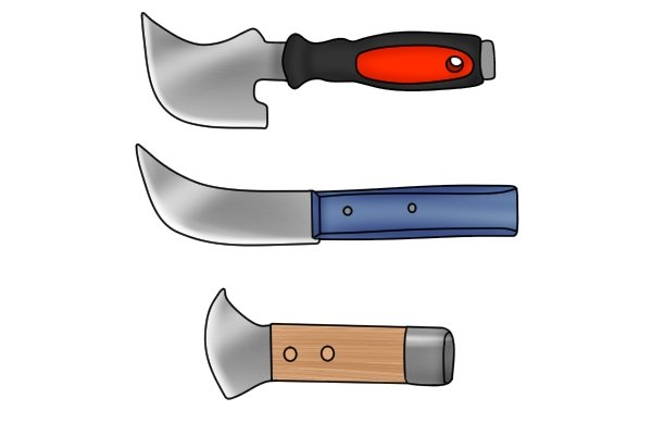 Lead knives have different blades for various uses