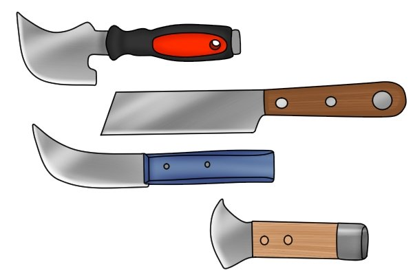 What Are The Different Types Of Lead Knife?