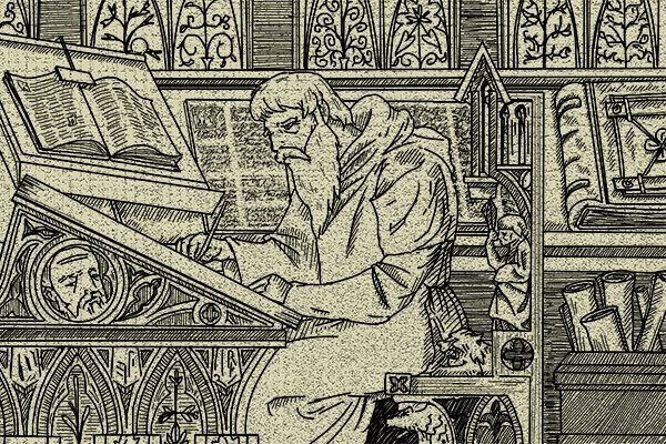 Some of the first printed books had their text underlined