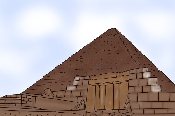 The great pyramid at Giza was measured out in cubit