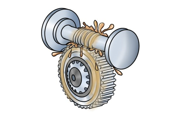 Gears are used to mark some rules precisely