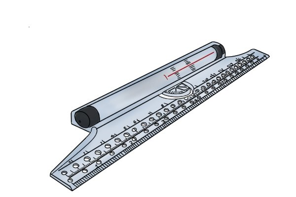 A Rolling ruler can draw parallel lines