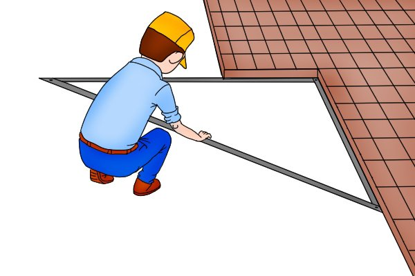 folding squares and carpenter's squares can measure distances and angles