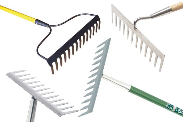 garden rakes. Garden Rakes Are Used To Turn And Spread Soil