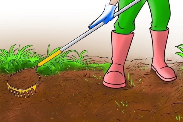 The best type of rake to turn soil for planting is a garden rake, they're specially designed for various gardening tasks