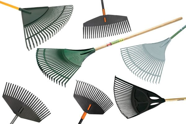 Leaf rakes and lawn rakes are usually classes as the same type of rake. Sometimes lawn rakes are described as being able to do jobs other than just moving leaves