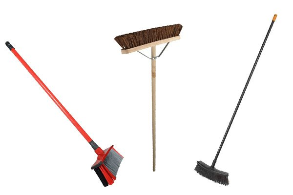 You can rake fallen leaves from gardens, from pathways you might want to use a broom to brush away leaves.