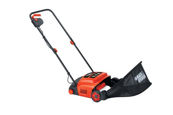 Lawn rakers, sometimes called electric lawnrakers can pick up leaves from lawns