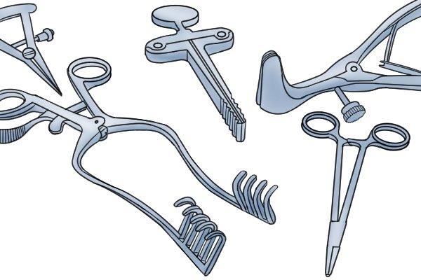 Surgical and medical instruments are often made from stainless steels
