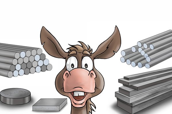 There are over 150 different grades of stainless steels available