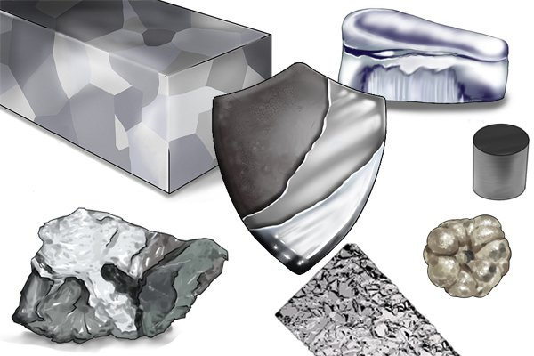 Other elements can be added to steel, as well as chromium, these include molybdenum, nickel and silicon