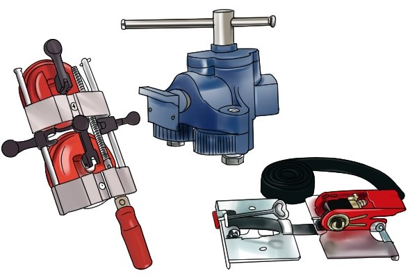 There are different types of surface clamps available