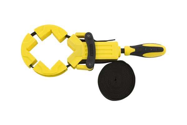 Band clamps are ideal for holding circular objects