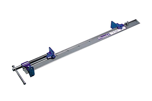Bar clamps are used for clamping long or wide workpieces