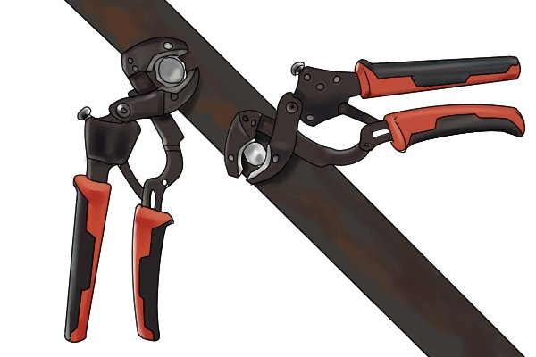 Locking pliers may not be as strong as clamps