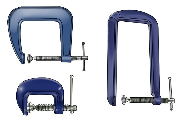 C Clamps Sizes