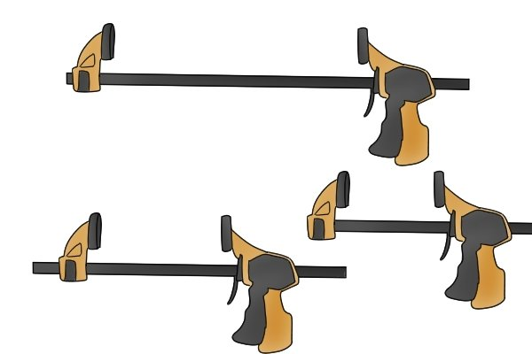 Wonkee Donkee's guide to trigger clamp sizes