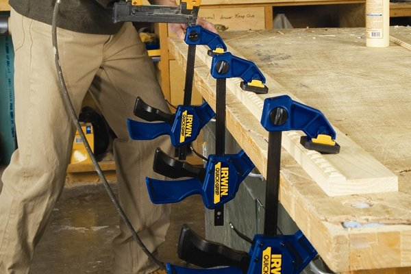 More than one clamp can be used if needed
