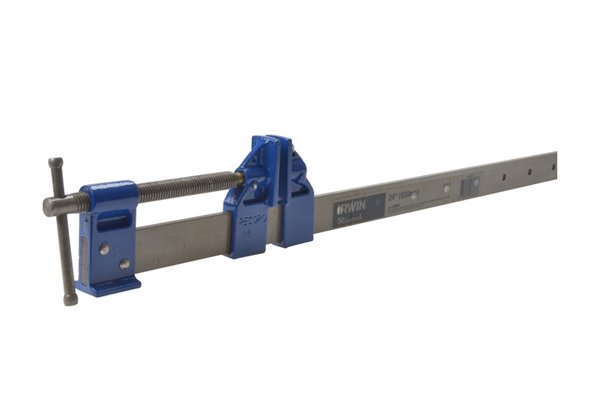 A sash clamp is the most common type of bar clamp