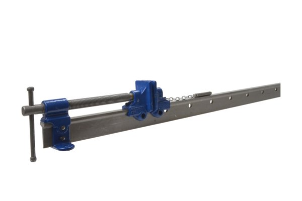 A T-bar clamp has a T section at the end