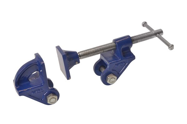 Clamp heads are a low cost alternative to a full size bar clamp