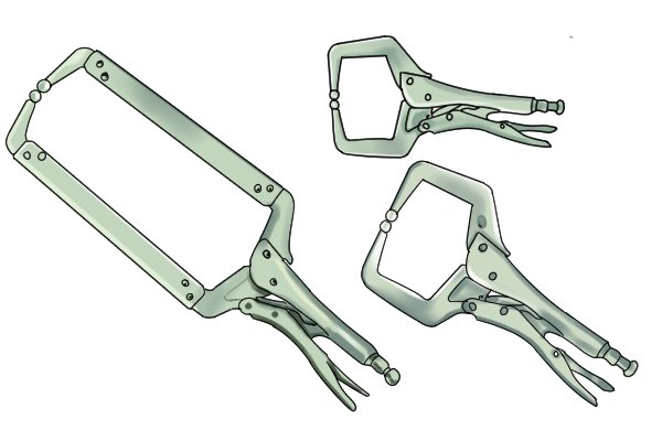 There are different types of locking clamp available