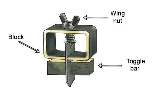Butt welding clamp