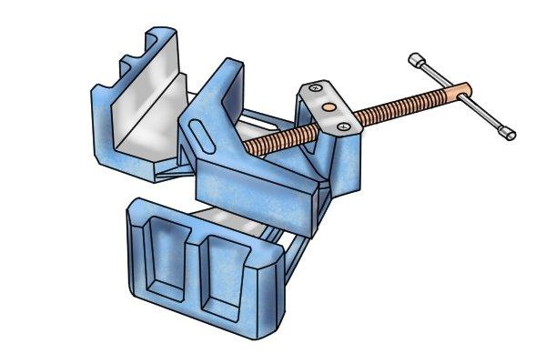 Welding angle clamp