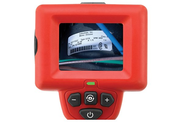 Inspection camera screen to see pictures or videos