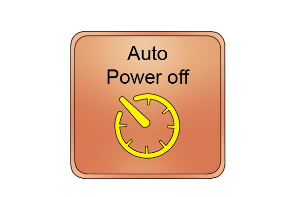Automatic power off feature