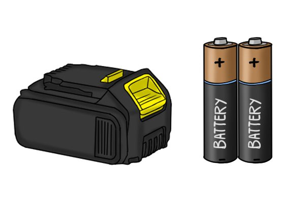 Rechargeable lithium-ion battery vs. disposable AA batteries