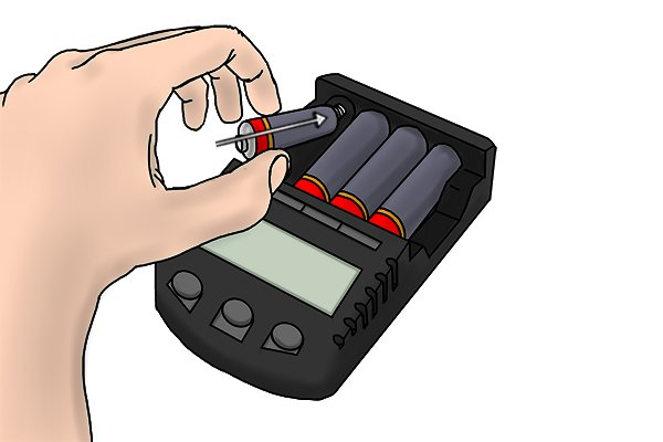 A battery charger will need to be purchased for rechargeable AA batteries