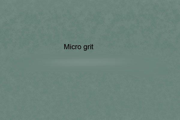 Micro grit sandpaper
