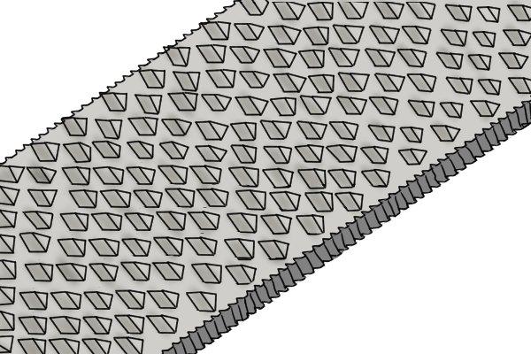 Rasps have larger teeth than files