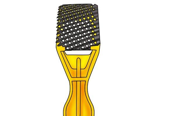 A surform shaver generally has no screw