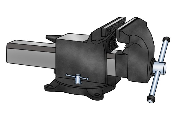 engineer's vice with swivel base