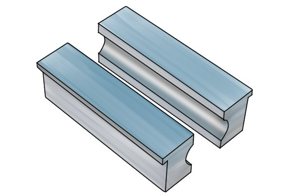 aluminium jaw pads