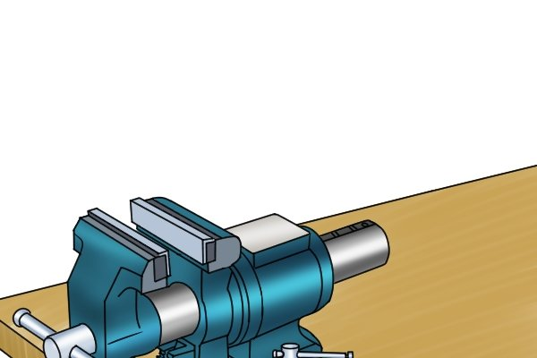 Two vice jaws are parallel