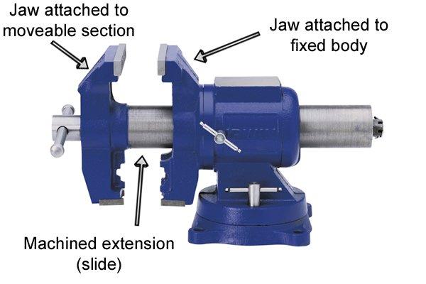 Metalworking vice parts
