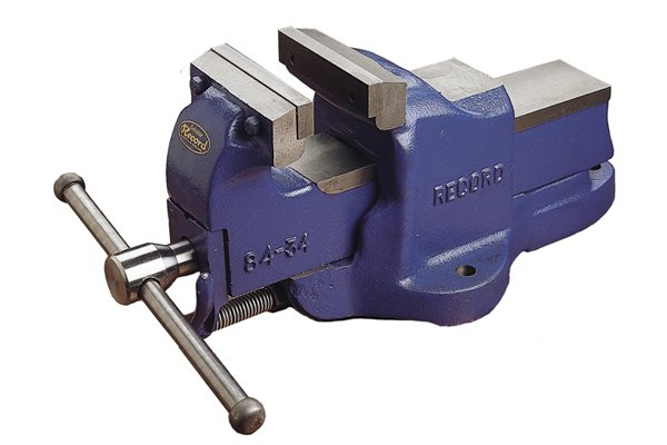 An engineer's vice is a heavy-duty metalworking vice